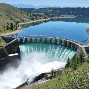 Kerr Dam near Flathead Lake Inn