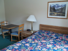 Single Queen Pet Room Flathead Lake Inn